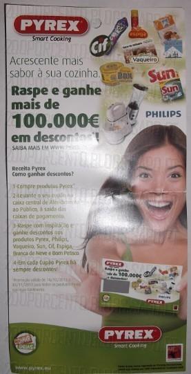 100.000€ em Prémios | CONTINENTE | com a Pyrex, até 30 de Novembro