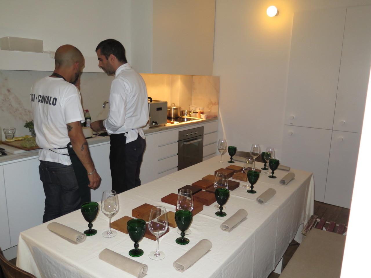 Cozinha do apartamento 'Jerónimos'