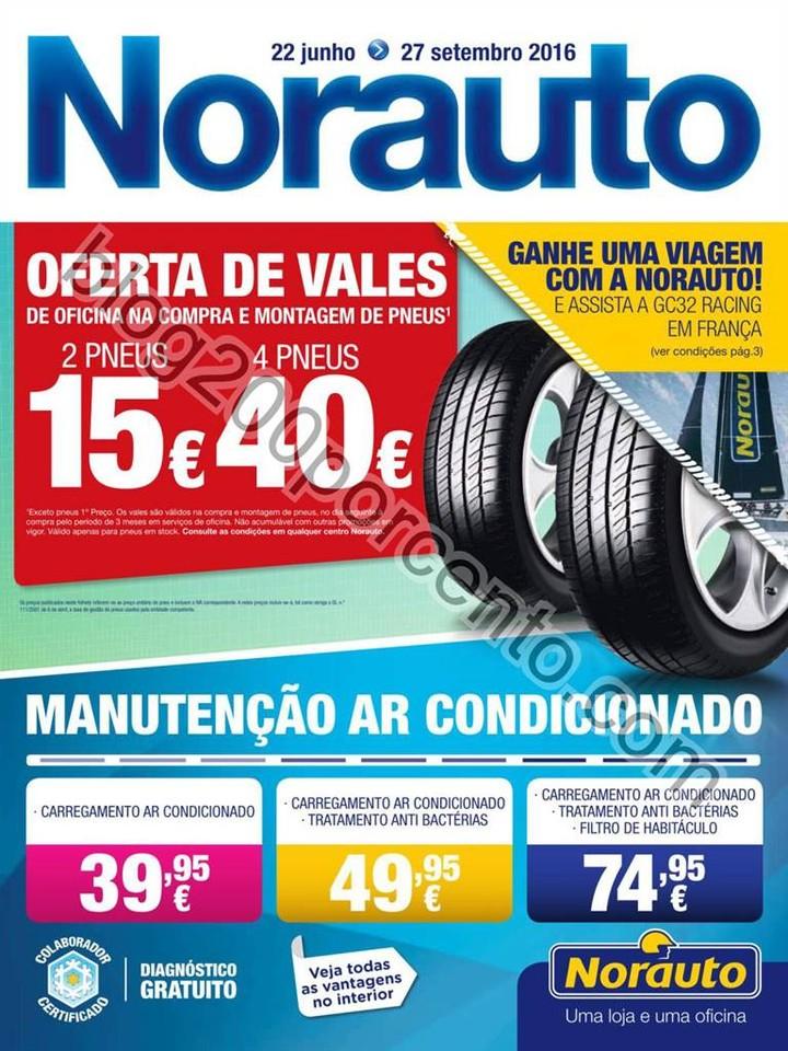 Novo Folheto NORAUTO Promoções de 22 junho a 27