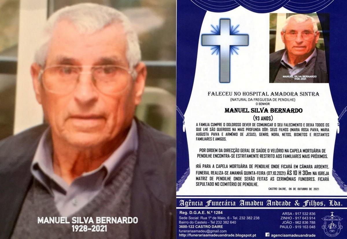 FOTO RIP DE MANUEL DA SILVA BERNARDO-93 ANOS (PEND