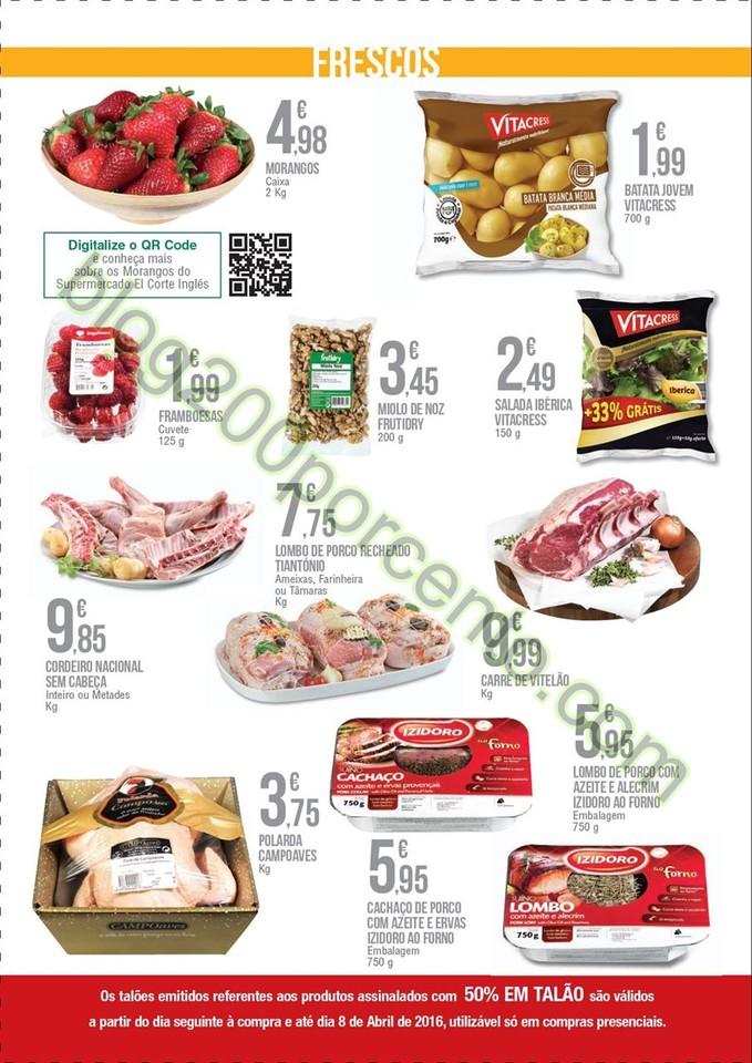 Novo Folheto EL CORTE INGLÉS promoções de 4 a 2