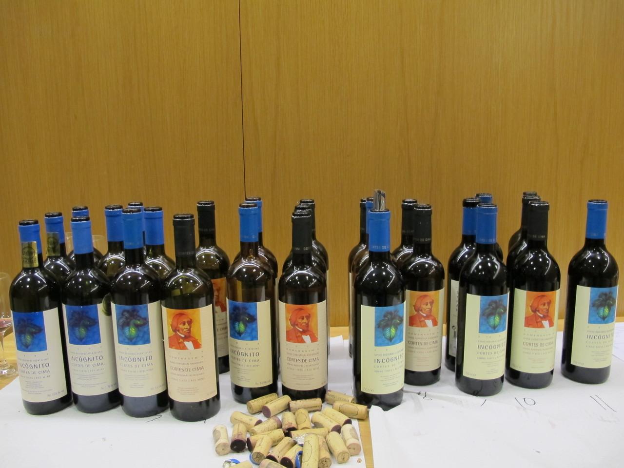 vinhos provados .JPG