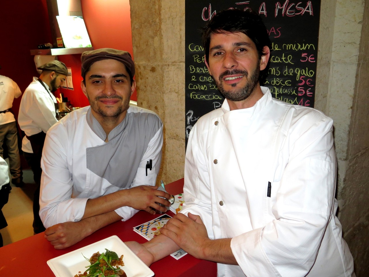 Bruno Salvado e Bertílio Gomes