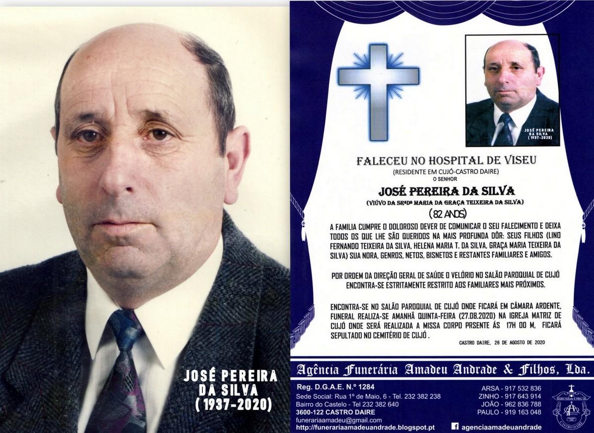 FOTO RIP  DE JOSÉ PEREIRA DA SILVA-82 ANOS (CUJÓ