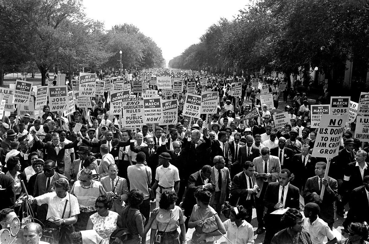 28 Agosto 1963 – Marcha sobre Washington