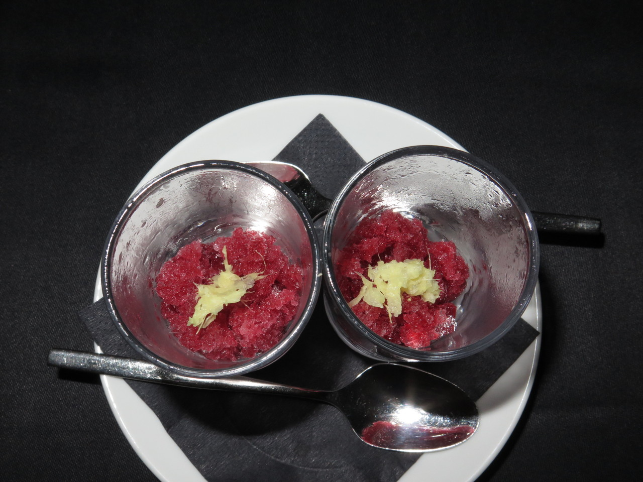 Granizado | Gengibre e hibiscos