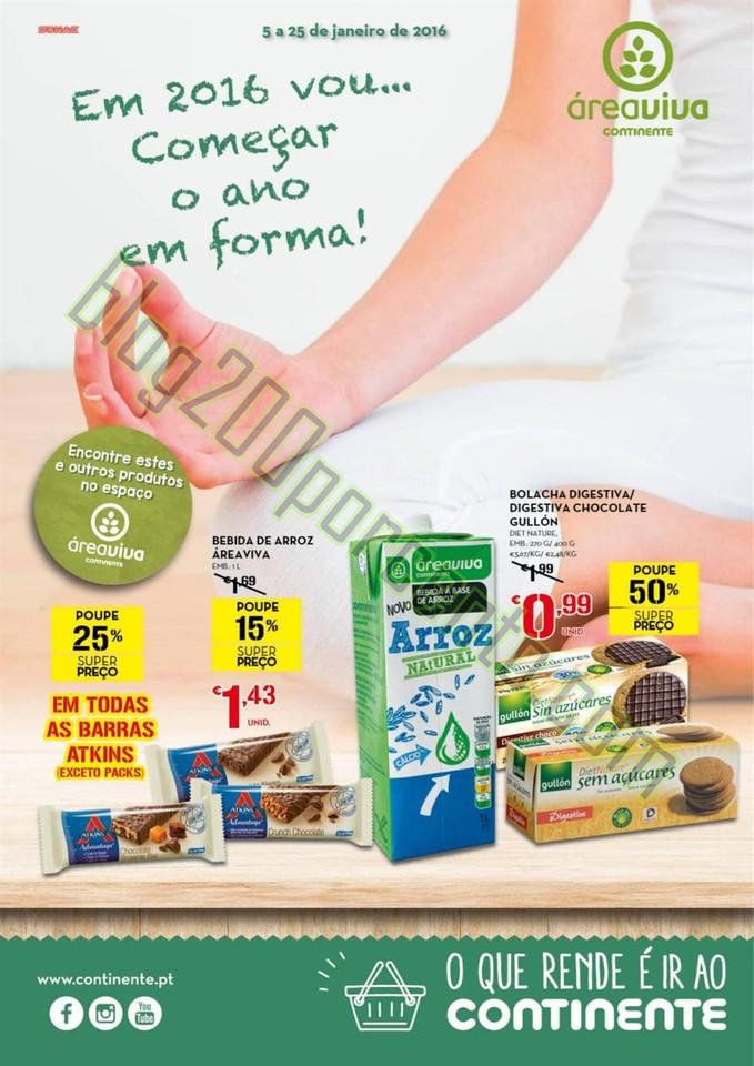 Antevisão Folheto CONTINENTE Áreaviva promoçõe