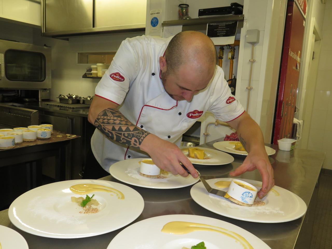 Sub-chef Marcus Stroll