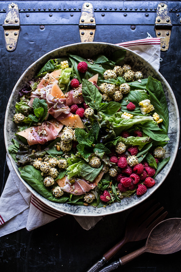 Fresh-Basil-Salad-with-Prosciutto-Wrapped-Mellon-a