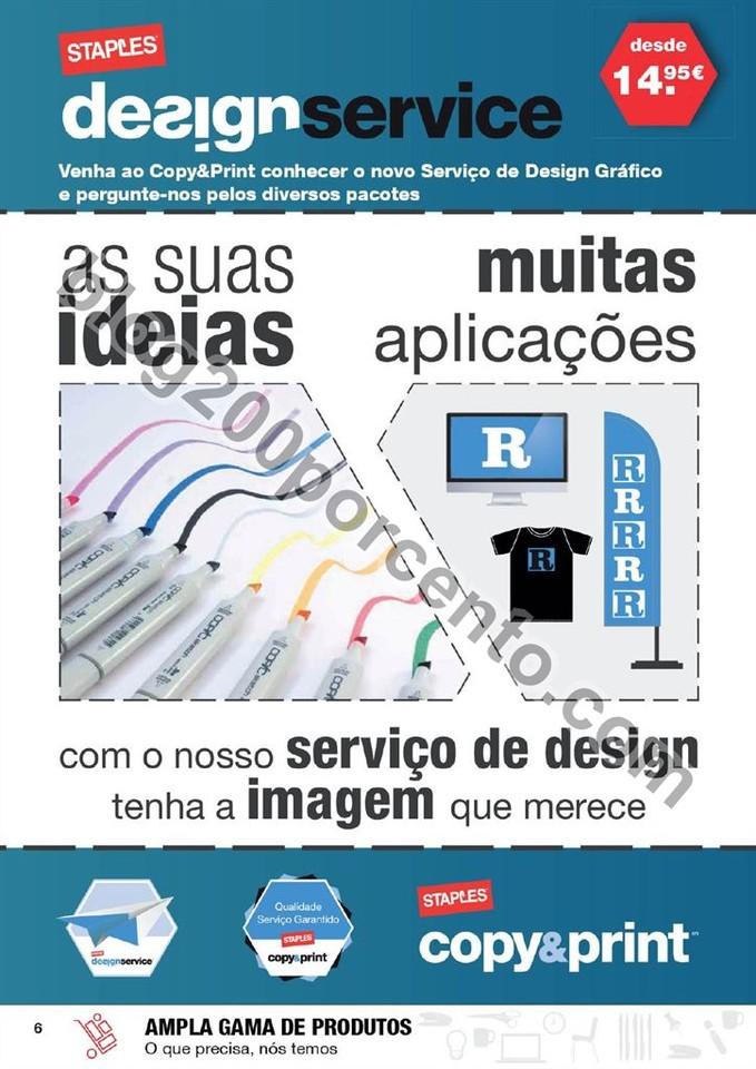 Antevisão Folheto STAPLES Promoções de 5 a 17 m