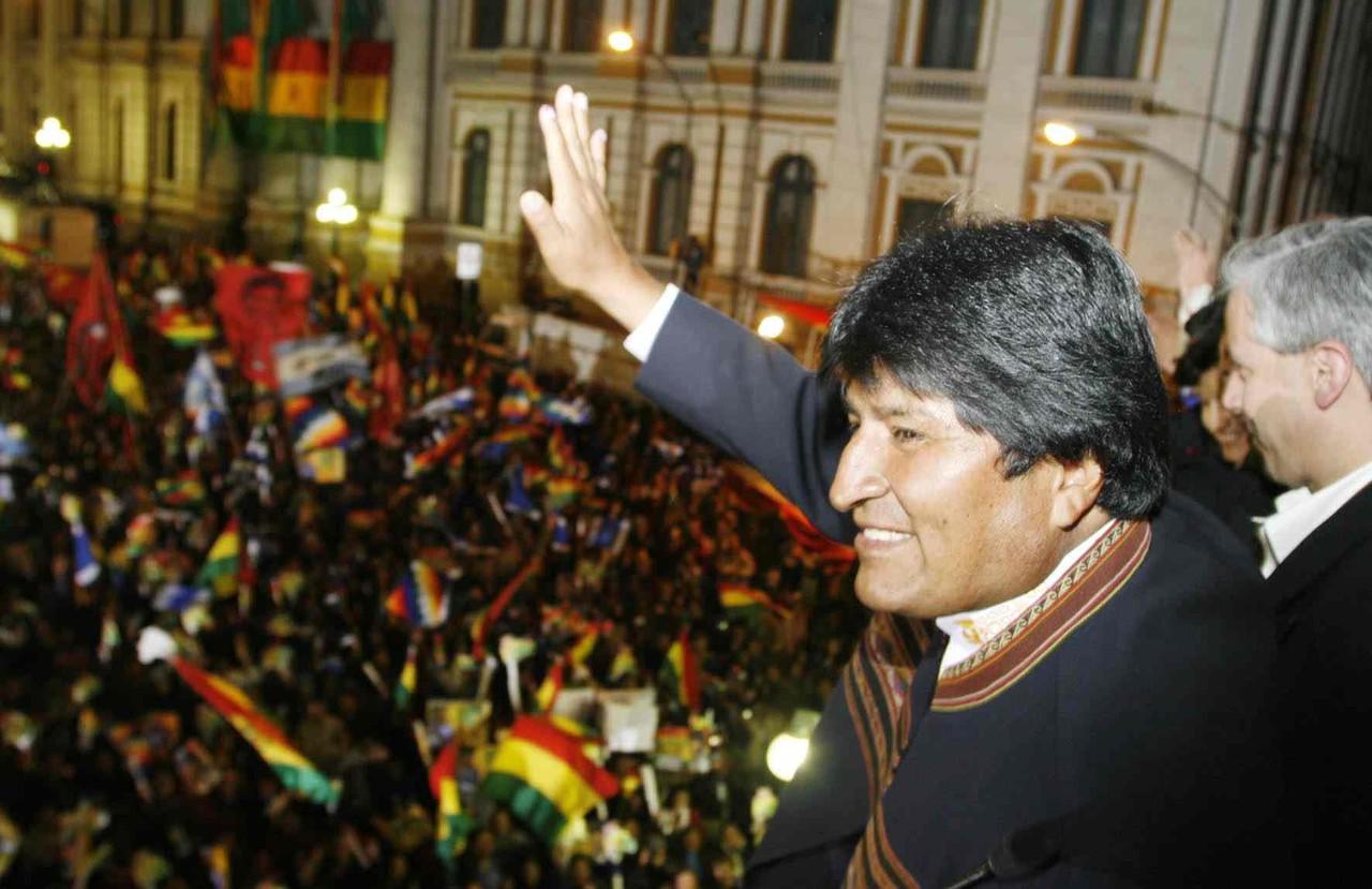 Evo Morales 2014