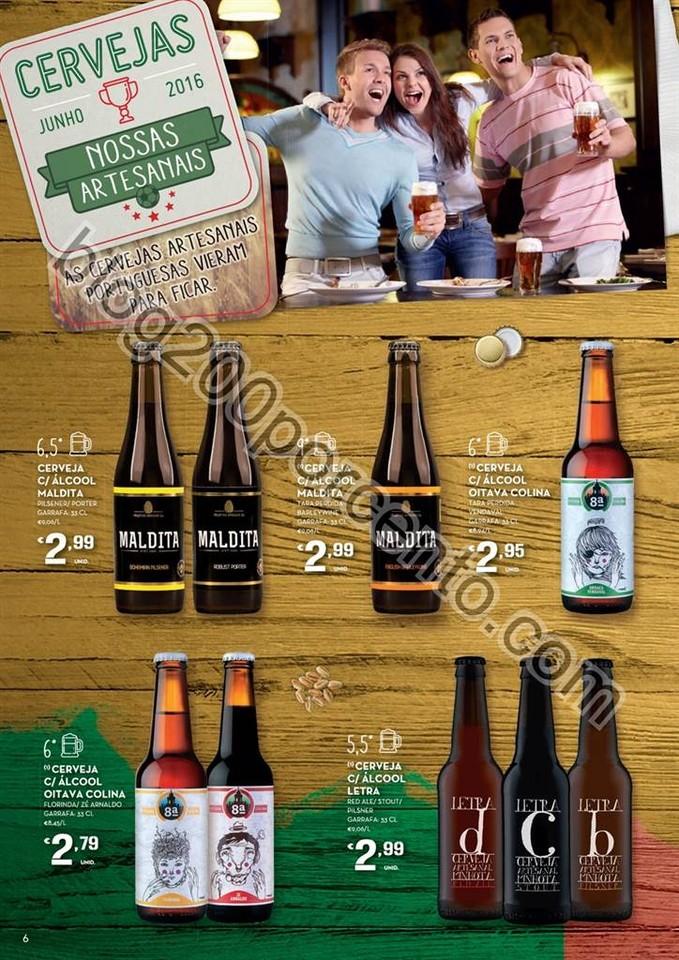 Antevisão Folheto CONTINENTE Cervejas e Mariscos