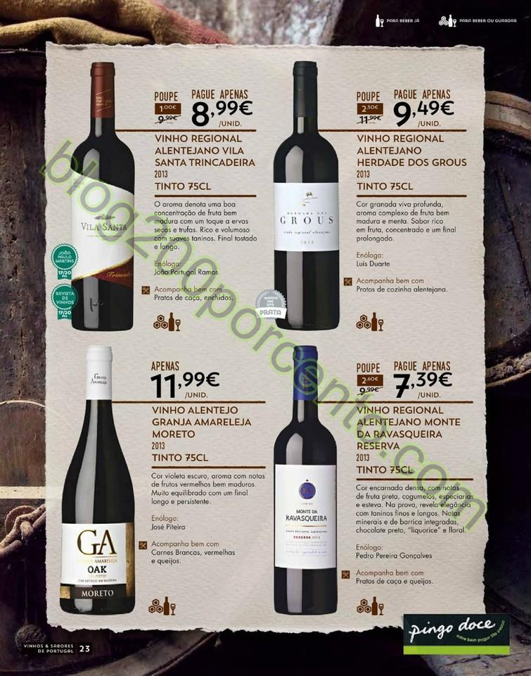 Antevisão Folheto PINGO DOCE Vinhos e Sabores de