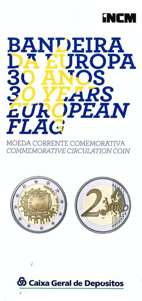 Bandeira da Europa 30 anos (I.N.C.M. e C.G.D.)