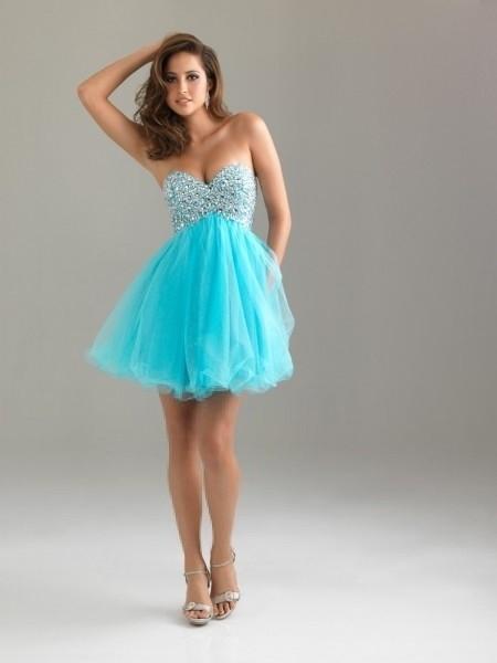 Vestido para baile curto