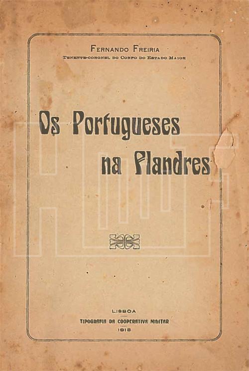 Os Portugueses na Flandres - Fernando Freiria - Bl
