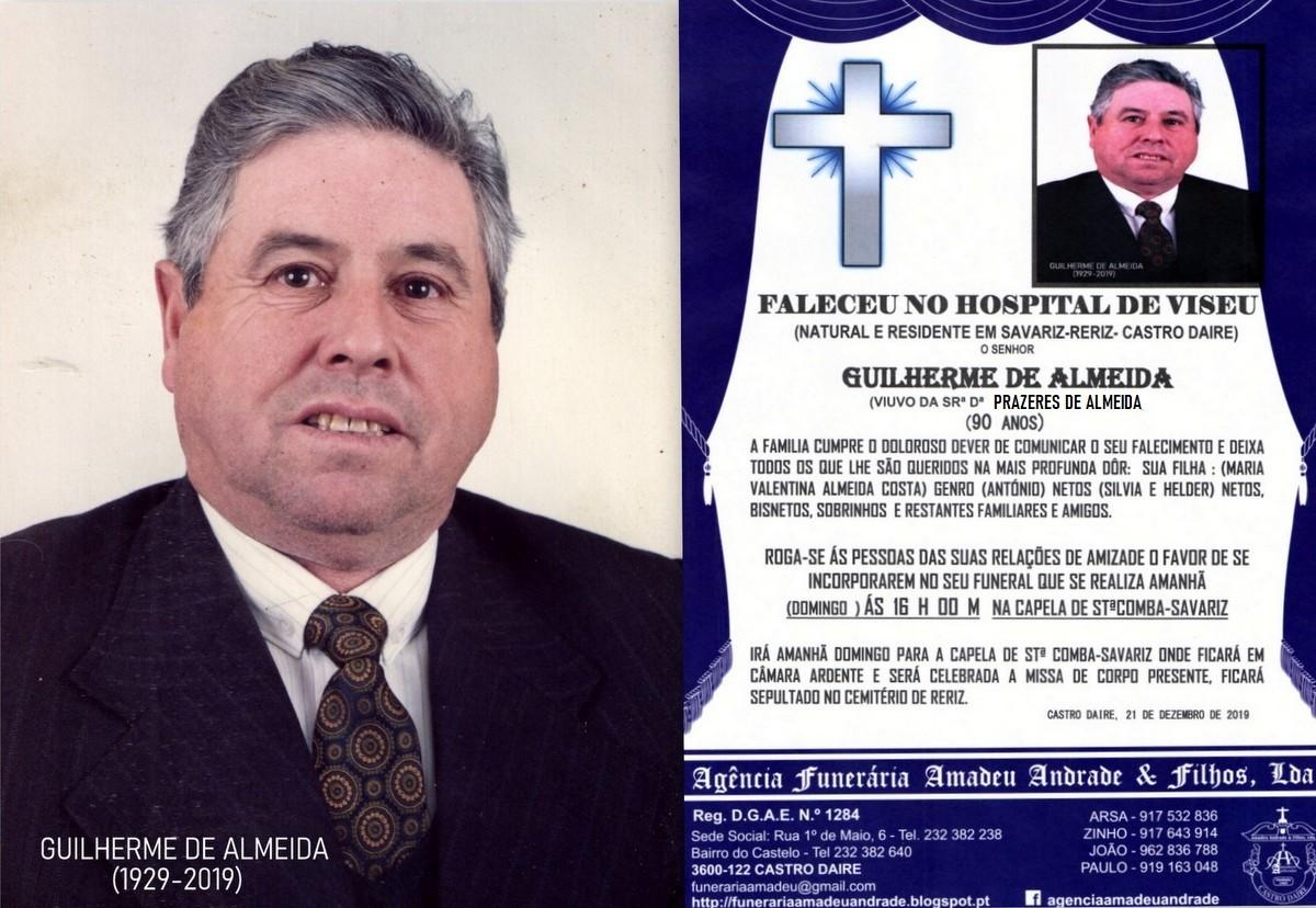 FOTO RIP  DE GUILHERME DE ALMEIDA-90 ANOS(SAVARIZ-