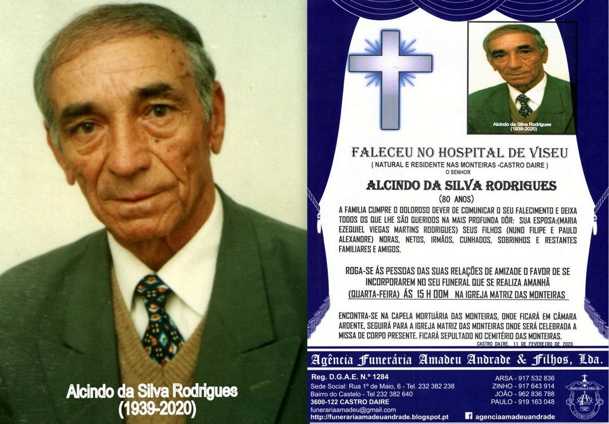 FOTO RIP DE ALCINO DA SILVA RODRIGUES-80 ANOS (MON