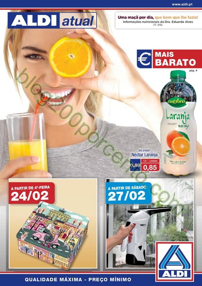 Antevisão Folheto ALDI Promoções a partir de 24