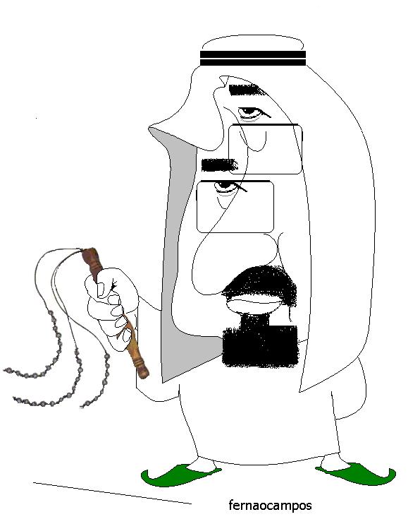 Rei Abdulah_caricatura