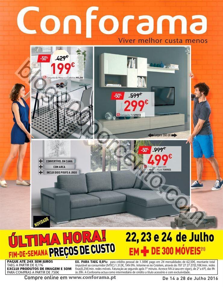 Antevisão Folheto CONFORAMA Promoções de 14 a 2