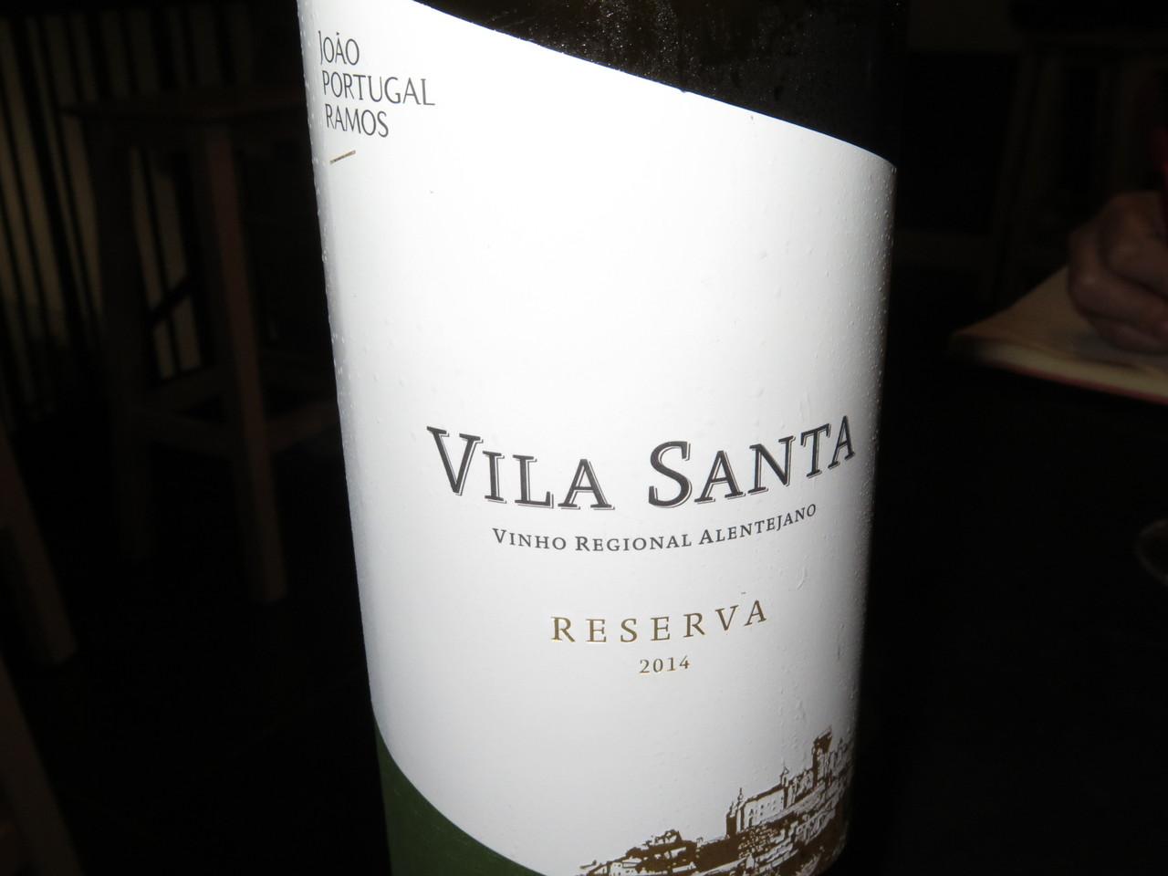 Vila Santa Reserva Branco 2014