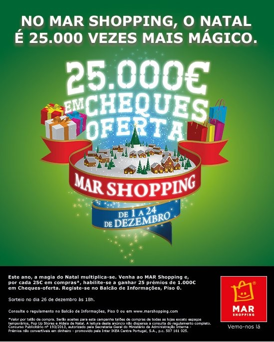 Campanha Natal | MAR SHOPPING |