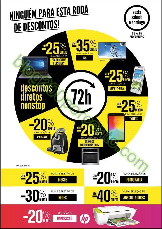 Antevisão 72h de descontos RADIO POPULAR de 26 a