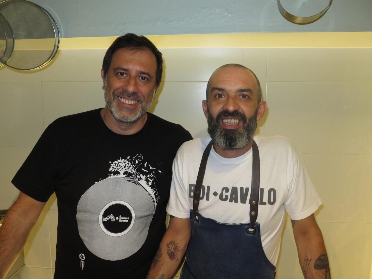 Miguel Pires e Hugo Brito
