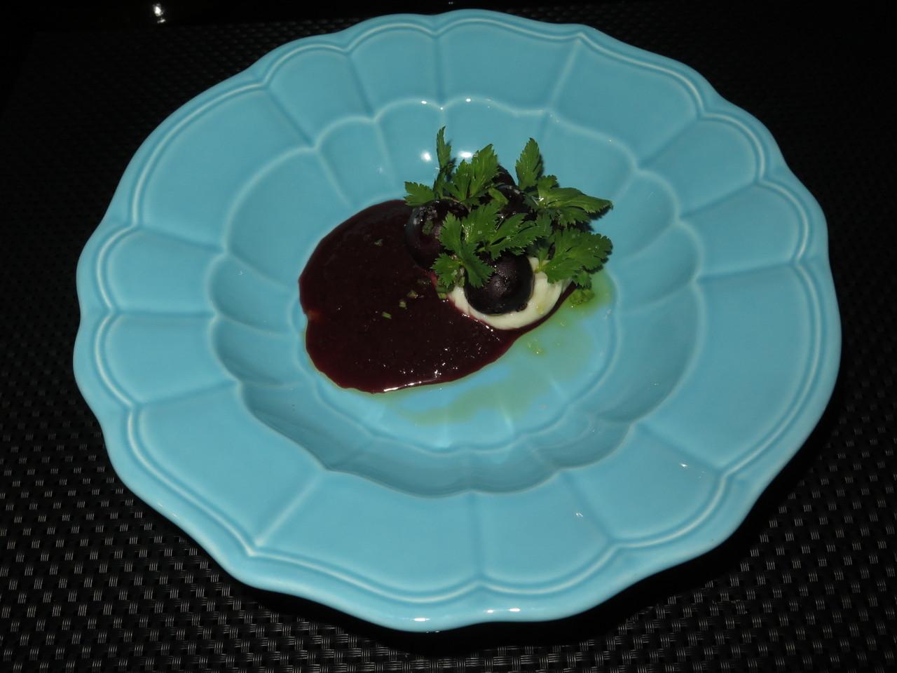 Salada de cerejas
