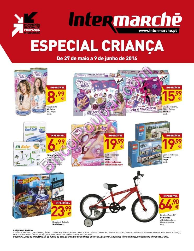 Antevisão Promoções Novo Folheto Intermarché - de 27 de maio a 2 de junho