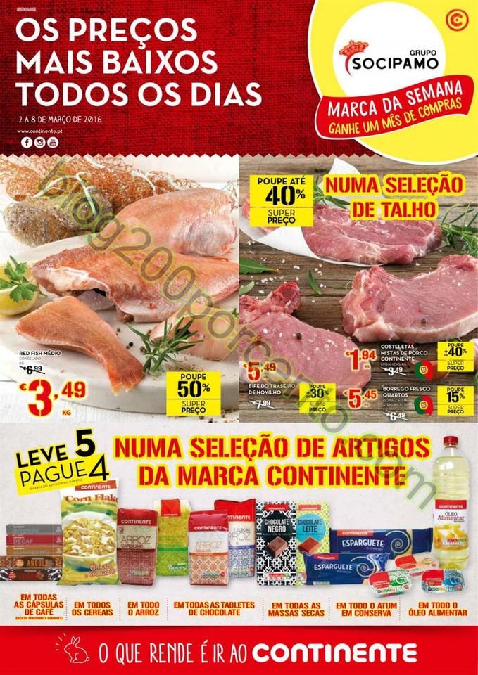 Antevisão Folheto MODELO - CONTINENTE Promoções