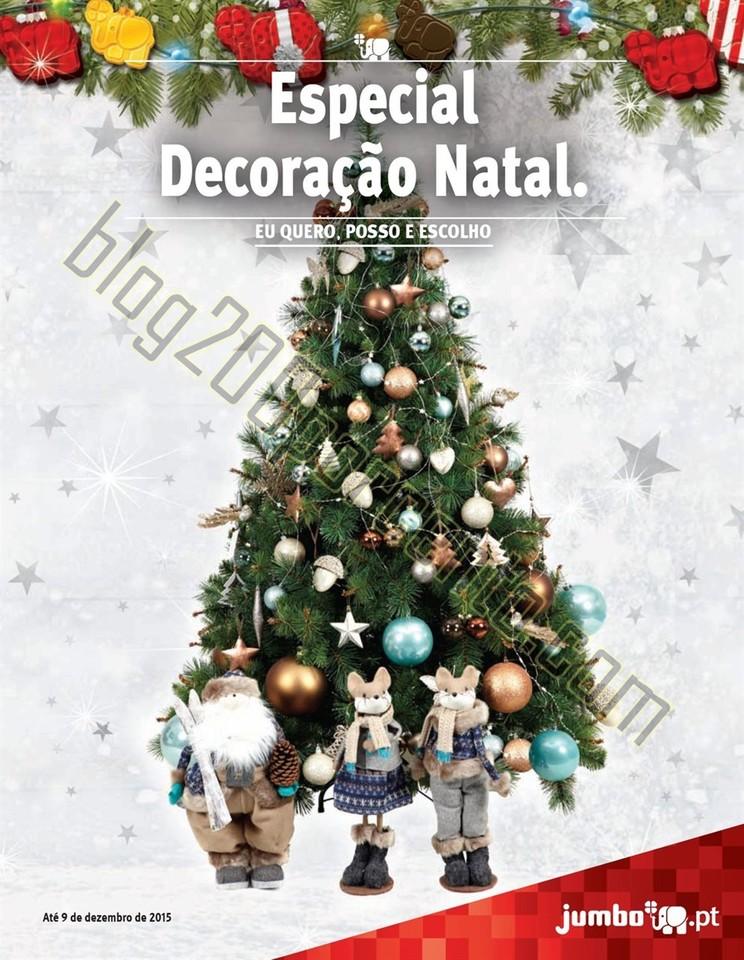 Novo Folheto JUMBO Decoração Natal de 27 novembr