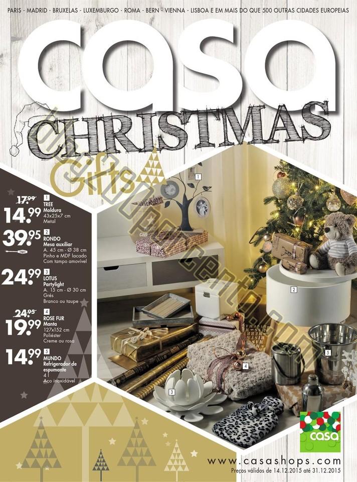 Novo Folheto CASA Natal Promoções de 14 a 31 dez