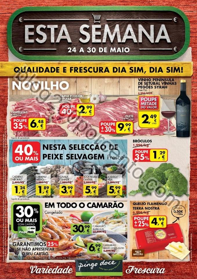 Antevisão Folheto PINGO DOCE Madeira de 24 a 30 m