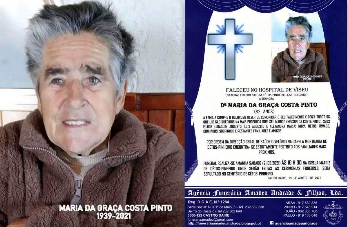 FOTO RIP DE MARIA DA GRAÇA COSTA PINTO-82 ANOS (C
