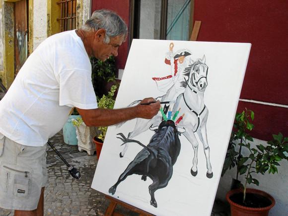 Exp pintura de António Dias