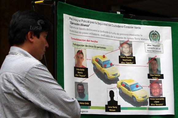 COLOMBIA CRIME DEA
