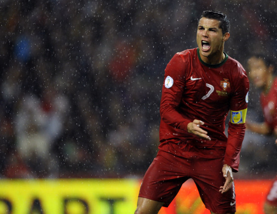 Bola Ouro 2012: Cristiano Ronaldo