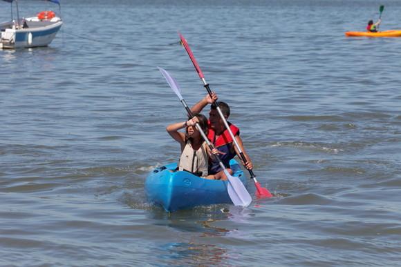 Canoagem Agosto Flutuante