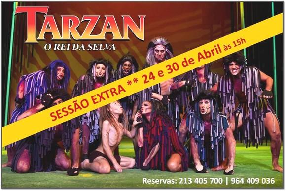 Sessão extra 24 e 30 Abril