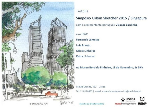 urbansketchers singapura