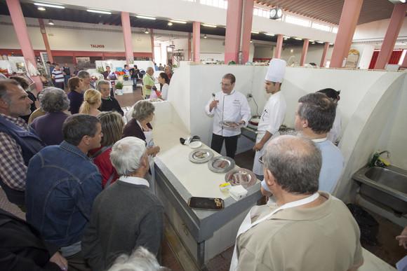 Aula de Culinária no Mercado