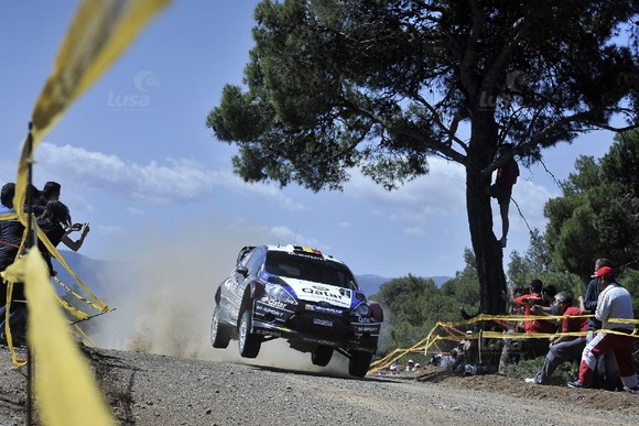 GREECE MOTOR RALLYING ACROPOLIS
