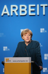 Angela Merkel no BDA Congress