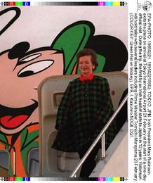 Visita Da Presidente Irlandesa