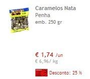 Caramelos Nata Penha 25% Desconto Continente