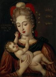 Santa Joana com o Menino (João Baptista Pachim)