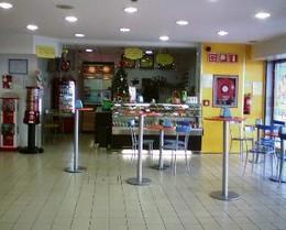 Interior do café do Ivo