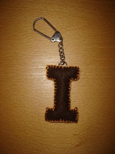 Porta chaves letras